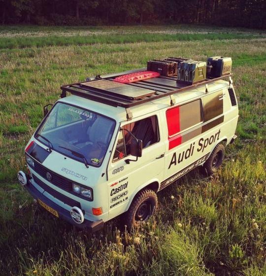 Audi Sport Service Van Vwt3 Vw 112i Vwtransporter Rallye