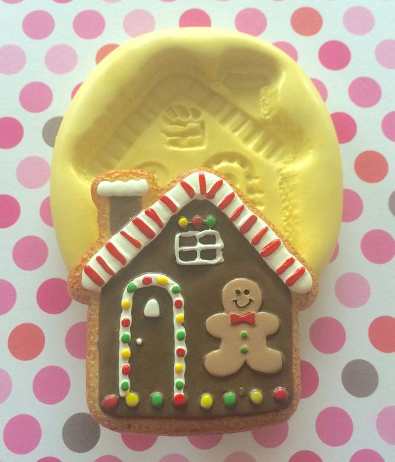 Fabulous Large Big Gingerbread House Silicone Mold By Download Free Architecture Designs Rallybritishbridgeorg