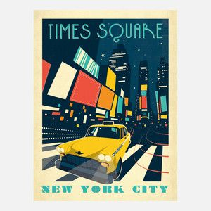Times Square Mordern Print, $29, now featured on Fab.
