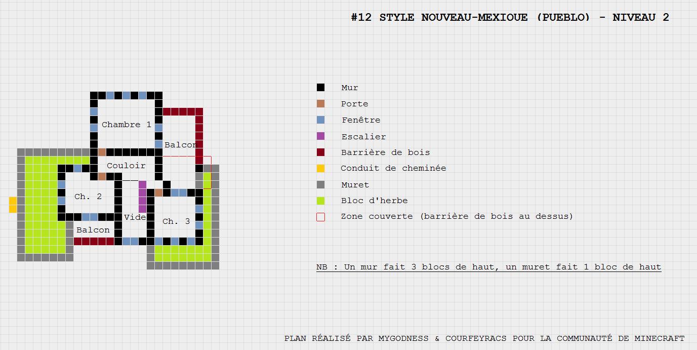 Plan Maison Pueblo De Style Nouveau Mexique Minecraft Constructor Plan Maison Conduit De Cheminee Nouveau Mexique