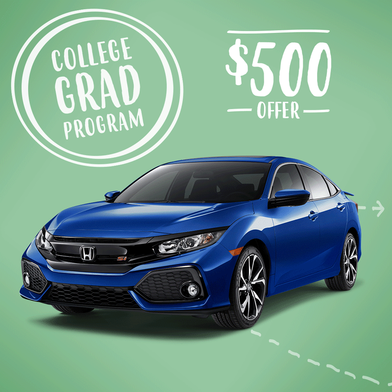 Recent college grads learn how you can save 500 on a