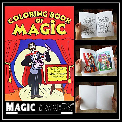Magic Coloring Book Easy Magic Trick Color Changing B 7 95 Https Www Amazon Com Dp B000jrl51m Ref Cm Sw R Coloring Books Easy Magic Tricks Easy Magic