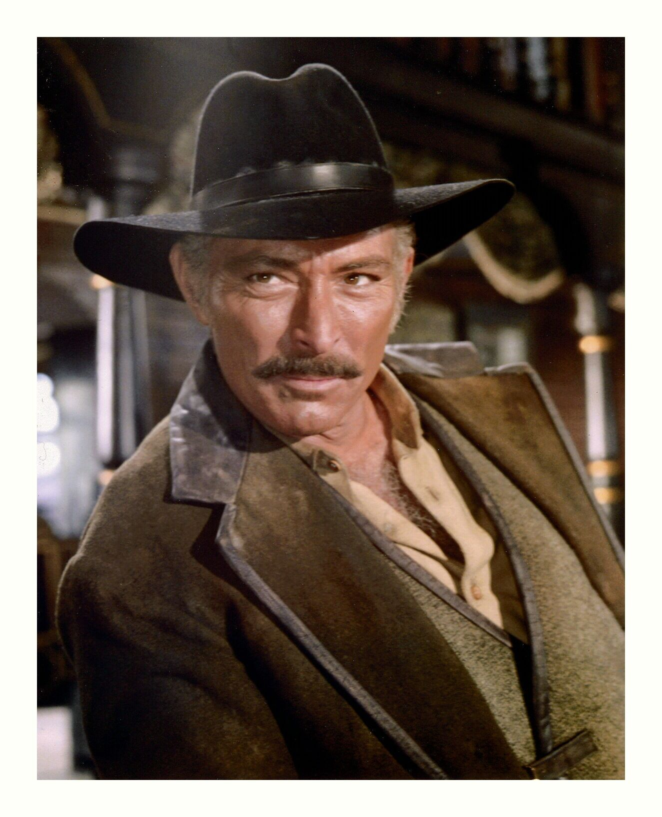 Lee Van Cleef played Dan Maury, - Season 1, Episode 26 \