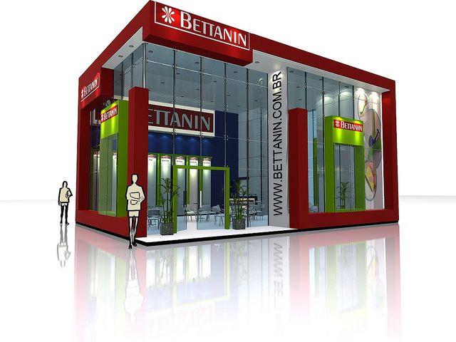 projeto stand bettanin | por drkdesignbr