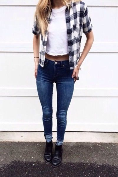 Inspiring image clothes, cute, fashion, fit, girl, goals, hipster, jeans,  like, love, outfit, outfits, skinny, thigh gap, tumblr, want by KSENIA_L