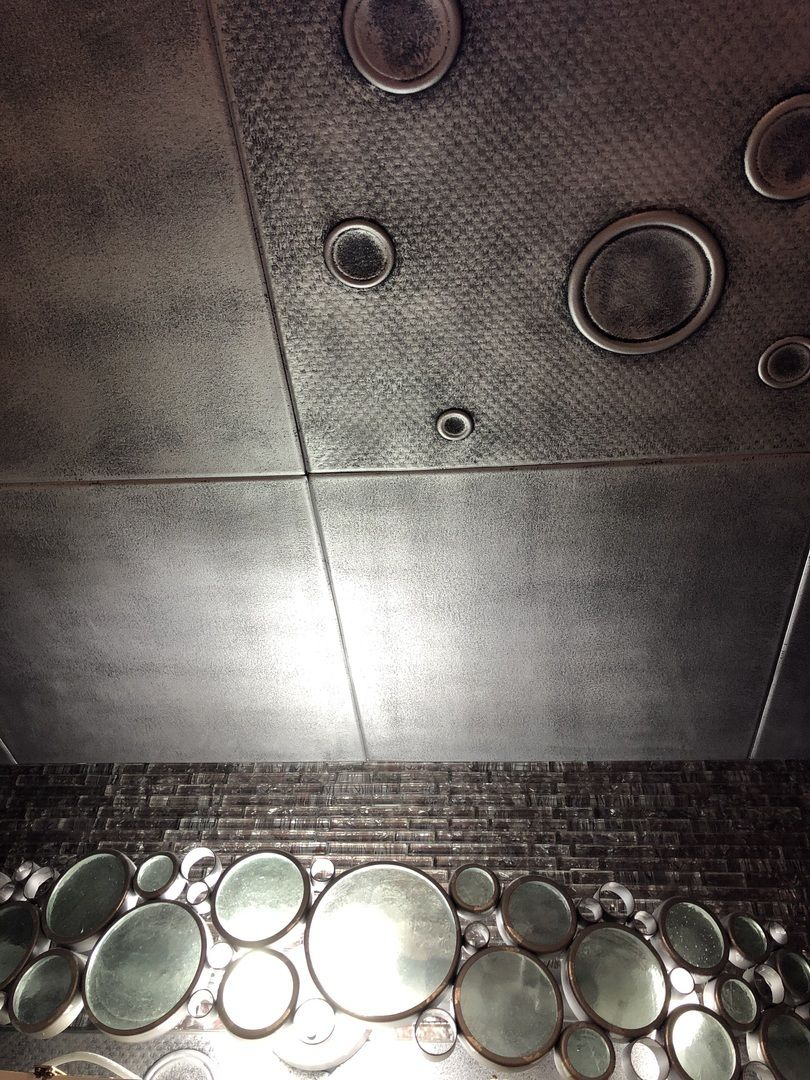 Glue Up Bathroom Ceiling Tiles