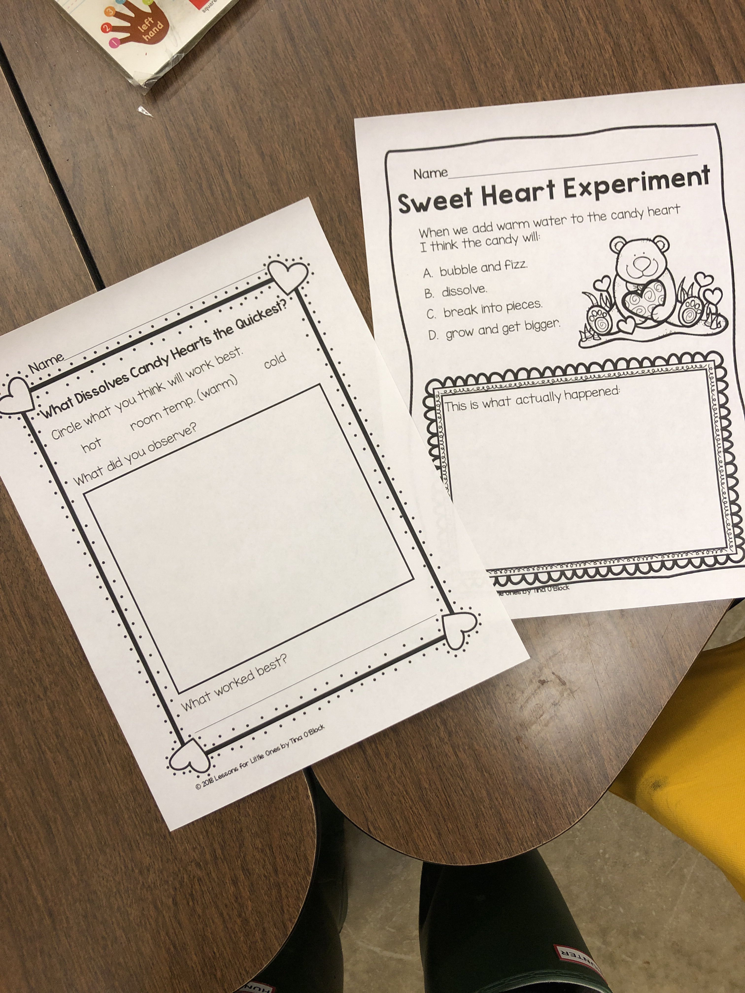 My Cooperating Teacher Did These Worksheets With A Science