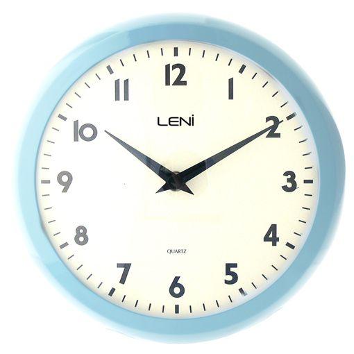 Buy Leni Blue Retro Wall Clock Online Retro Wall Clock Clock