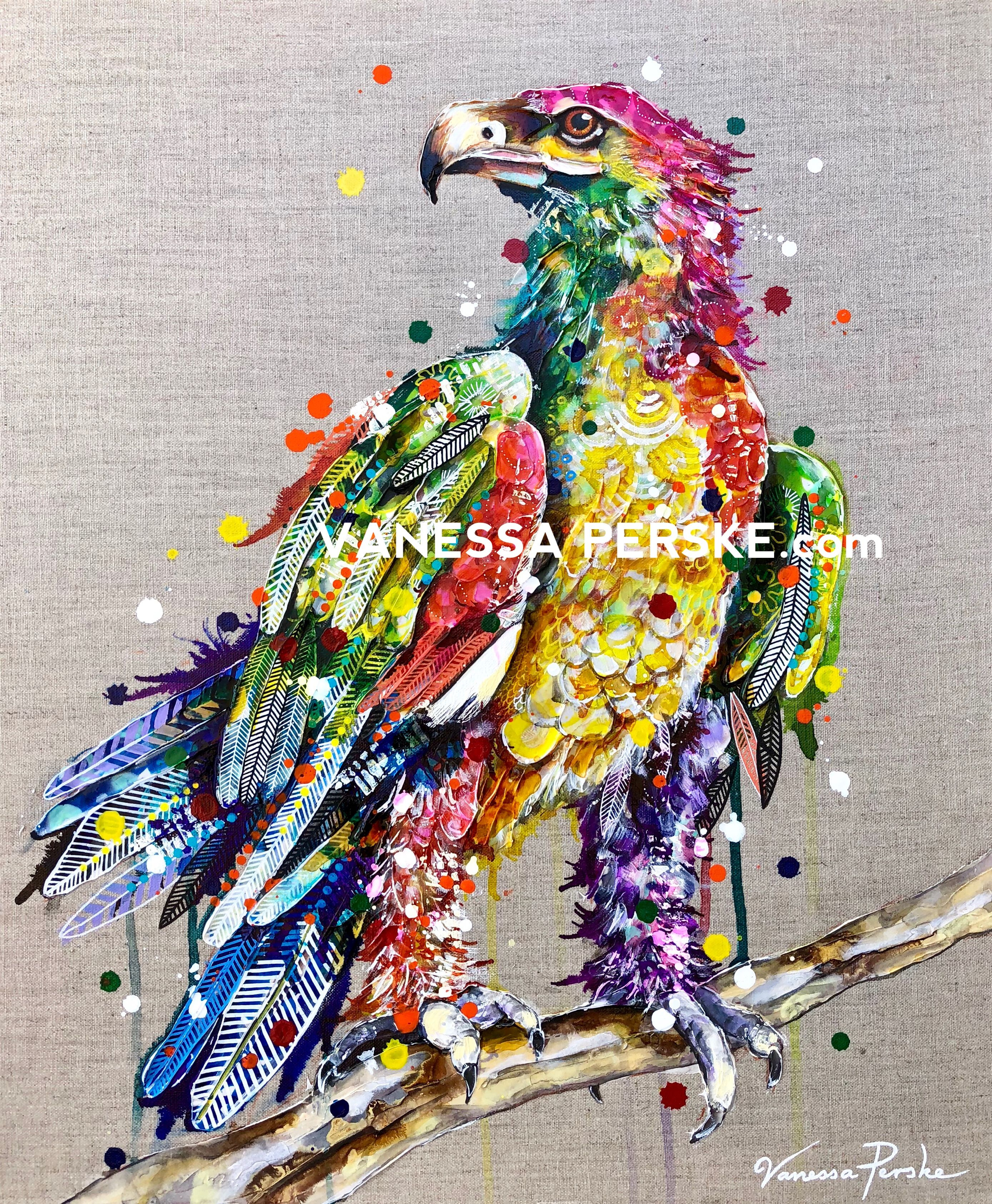 Available paintings vanessa perske eagle painting