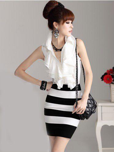 ecf1b7a59 faldas cortas apretadas   Inspiración por la moda   Ropa coreana ...
