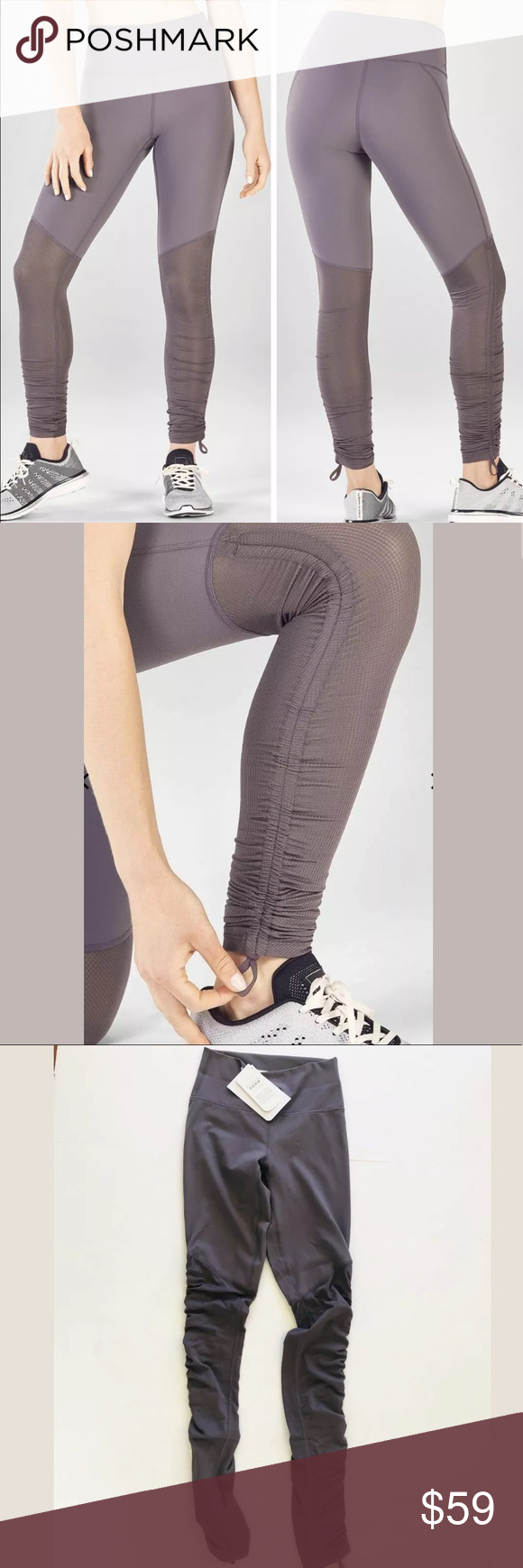 4293977444502 Fabletics Cashel Foldover PureLuxe Leggings xxs NWT Womens Fabletics Cashel  Foldover PureLuxe Leggings XXS. Condition is New with tags.