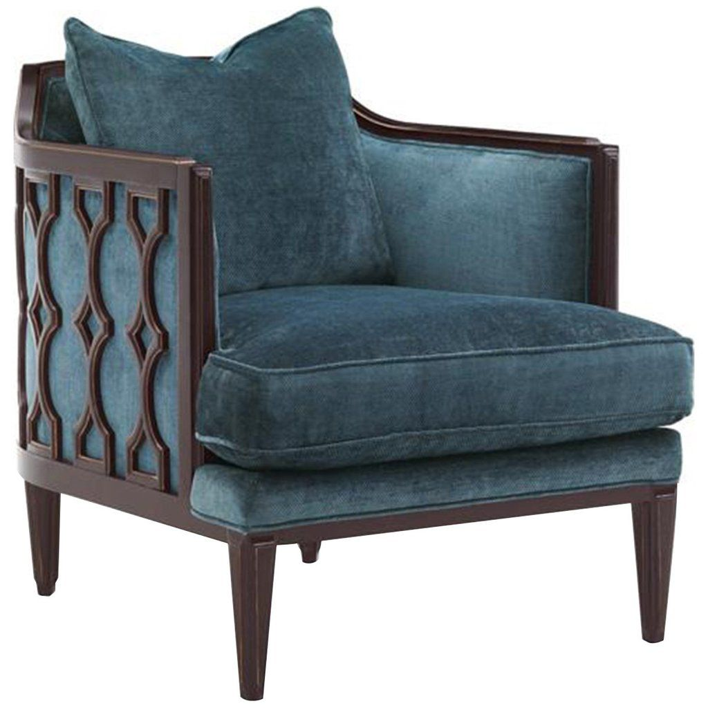 Caracole wood frame upholstered chair upholstered chairs