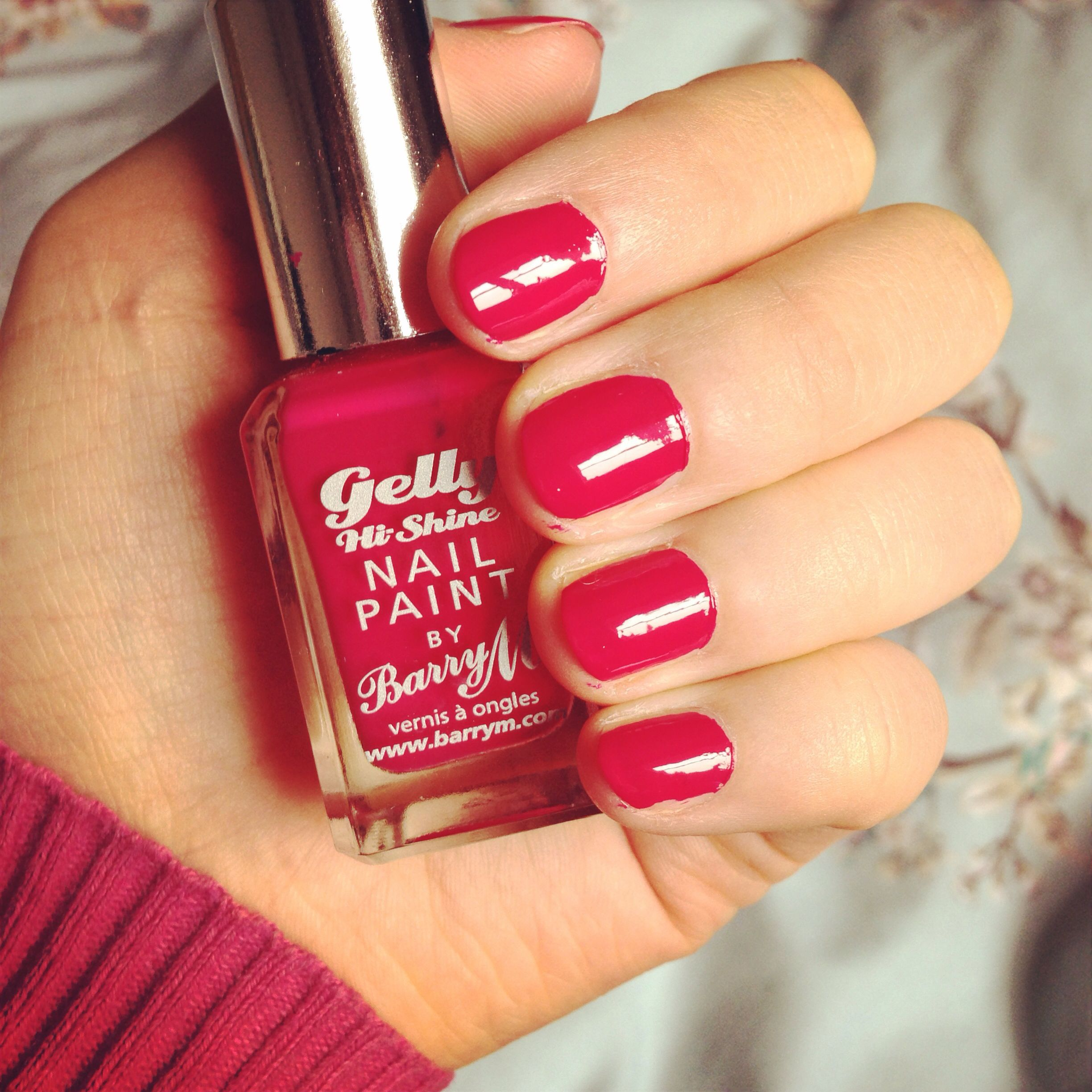 Loving today\'s nails!!! BarryMCosmetics Gelly Hi Shine Nail Paint in ...