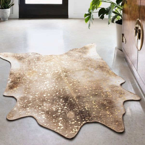 Overstock Com Online Shopping Bedding Furniture Electronics Jewelry Clothing More In 2020 Faux Cowhide Area Rug Faux Cowhide Faux Cowhide Rug
