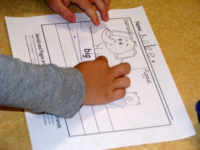 Elephant and Piggie Unit -FREE!! Reading and Writing- Scissors and - new mo willems coloring pages elephant and piggie