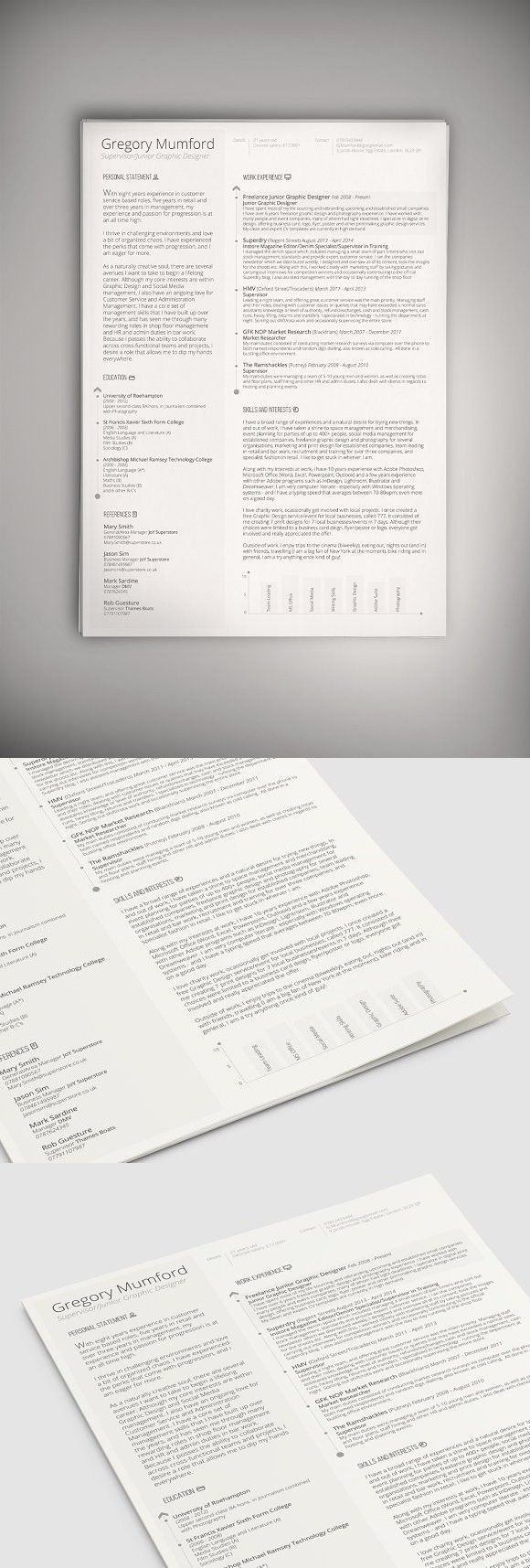 the professional 2 (psd + word doc) doc, words, bar resume format in wordpad entry level financial analyst sample volunteer example