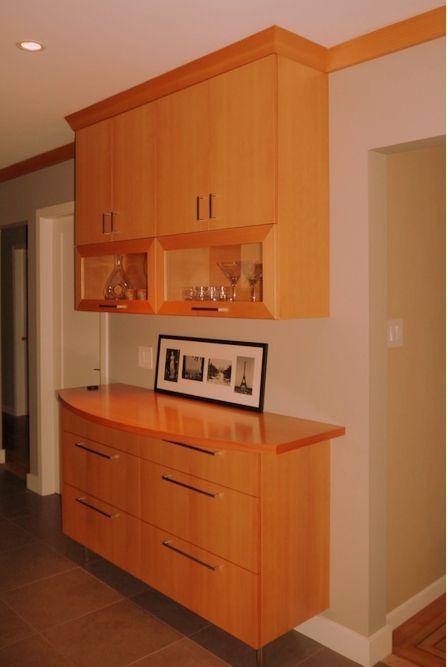 Douglas Fir Kitchen Credenza | Kitchen credenza, Kitchen ...