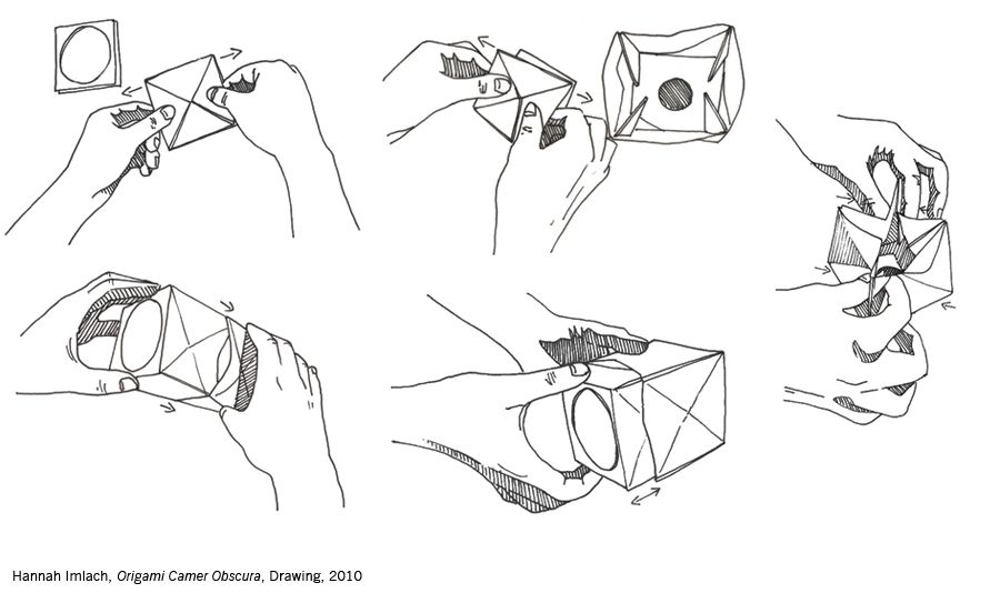 Origami Camera Obscura Instructions