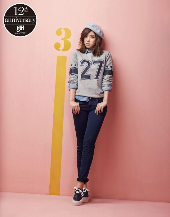 전효성의 캠퍼스 룩 - Get Your Dream, Voguegirl.co.kr