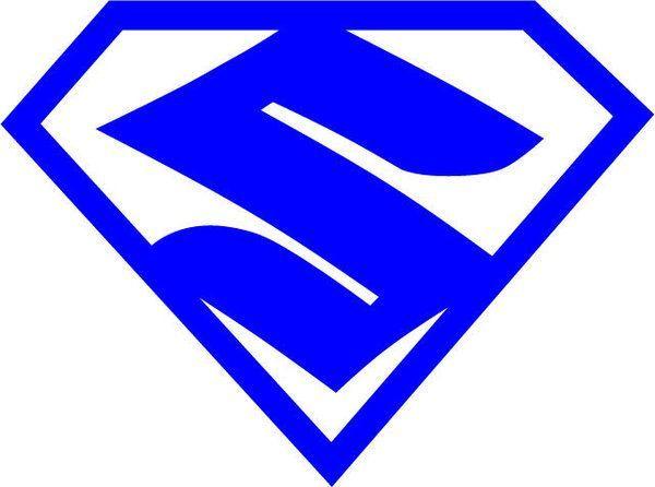 SuperZuki Decal Superman Style Suzuki Logo