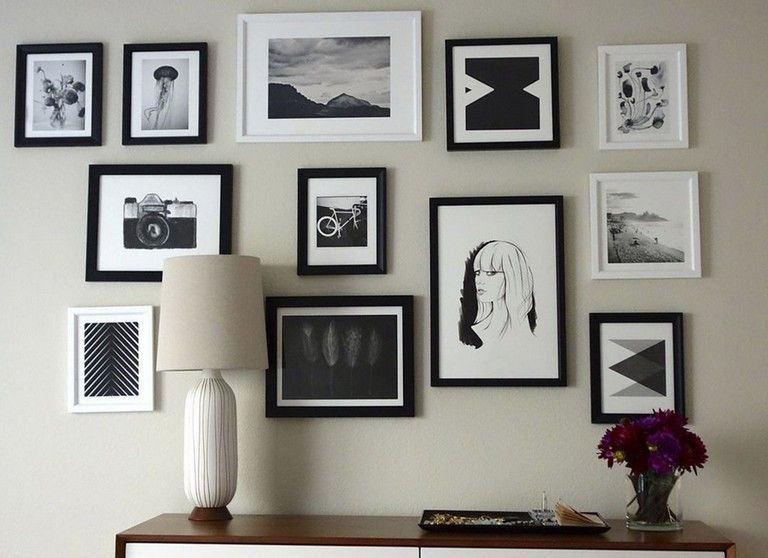 simple way to creating gallery wall home decor for your decoration decorating decoratingideas decorativebirdhouseplans also rh pinterest