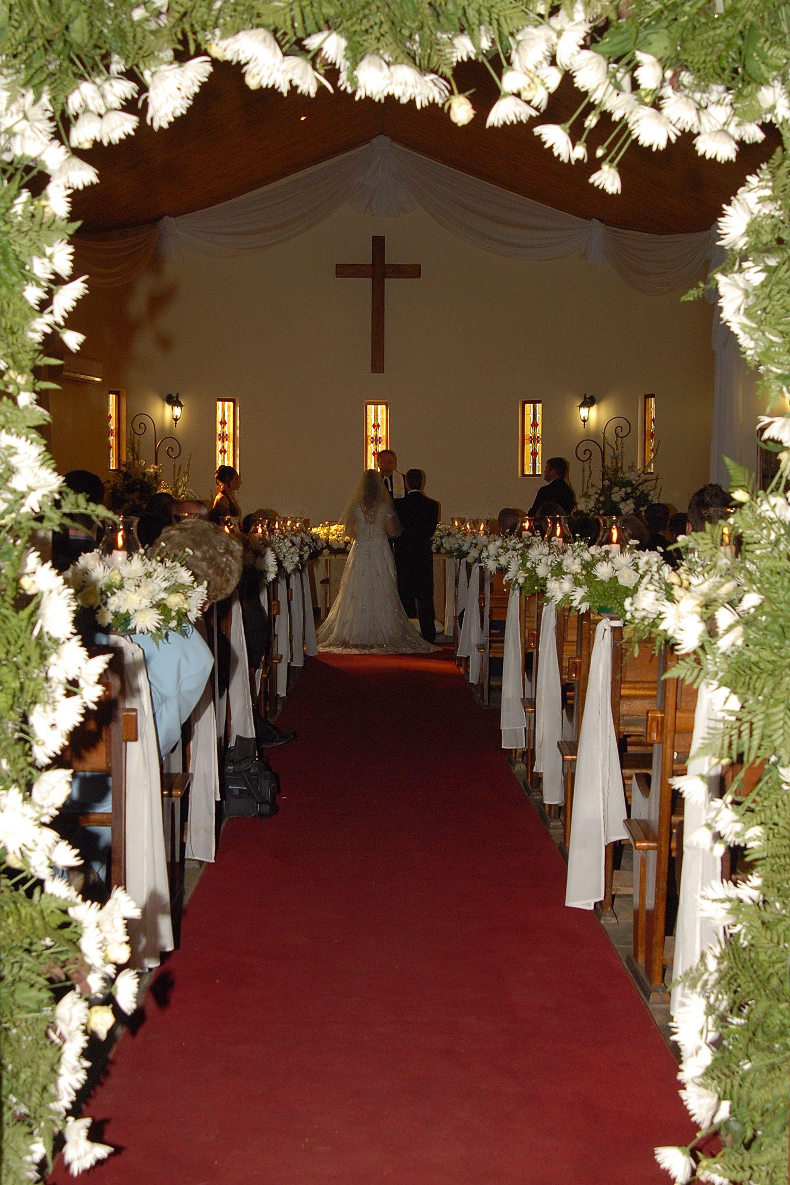 Vintage Wedding Church Wedding Church Decoration 1