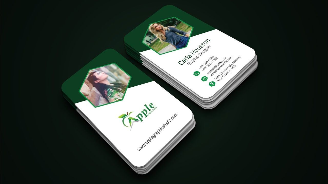 Make Creative Business Card Design - Photoshop Tutorial | Business ...