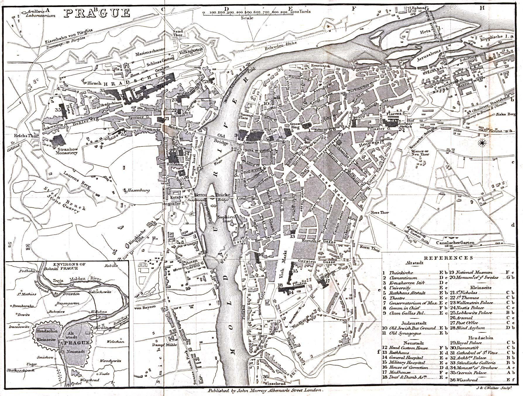 Prague Prague Map Prague Map
