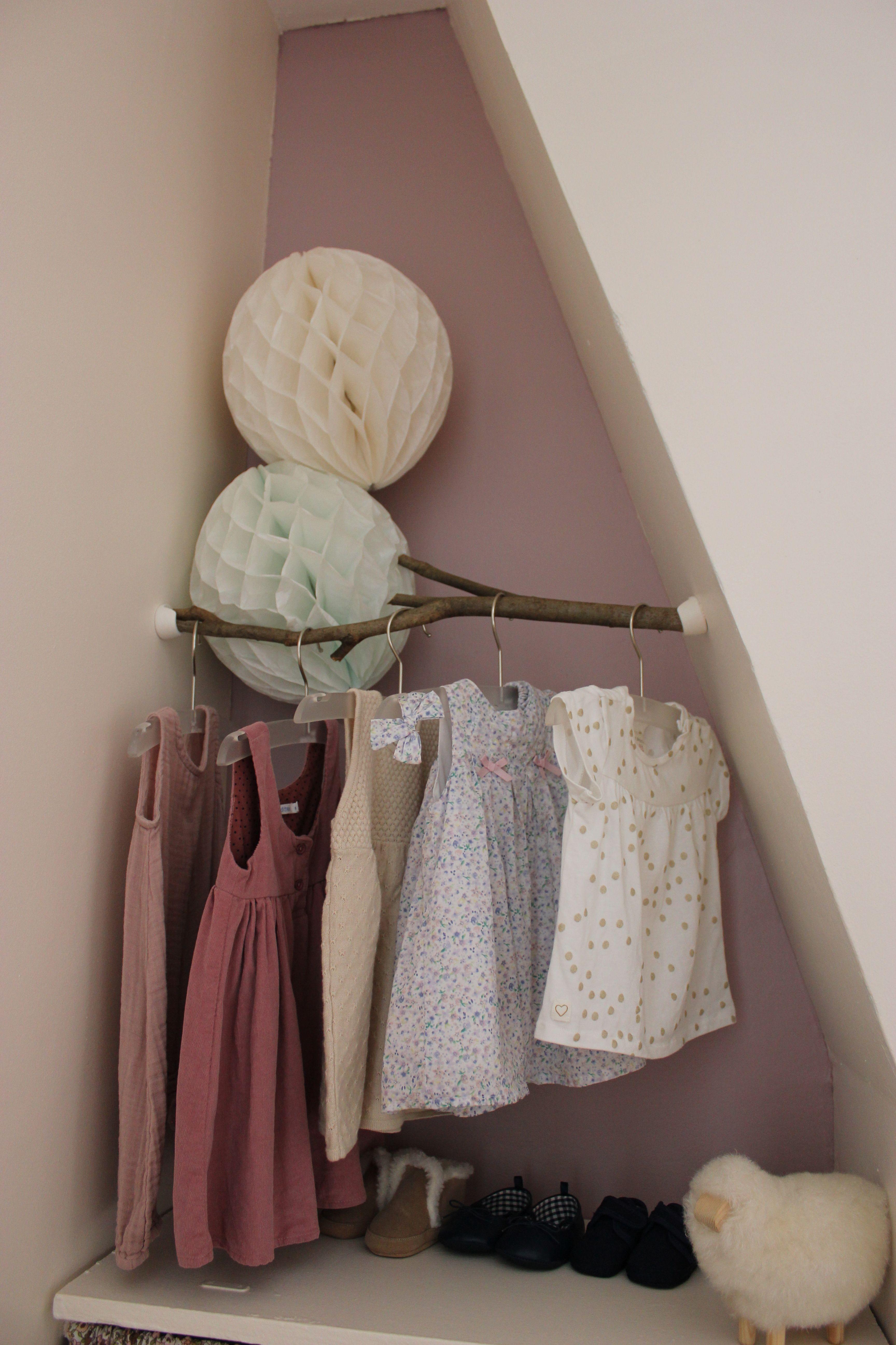 Robe laine vieux rose
