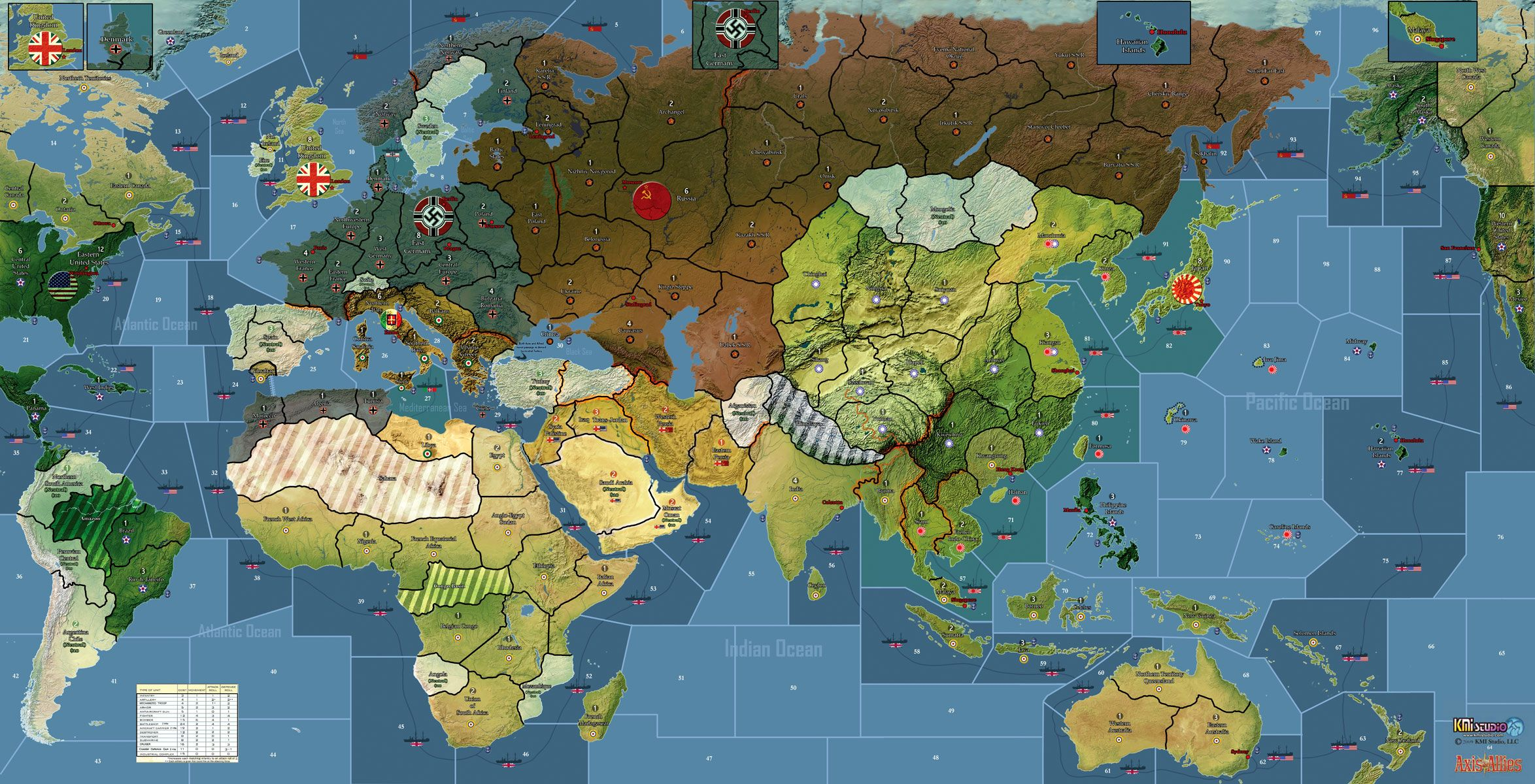 axis and allies board pictures Kurt Miller Axis And