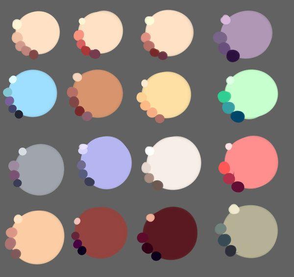 Skin Colors By Rika Dono Deviantart Com On Deviantart Color