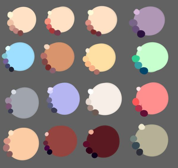 71e757cc5461b Skin colors by rika-dono.deviantart.com on @deviantART   color ...