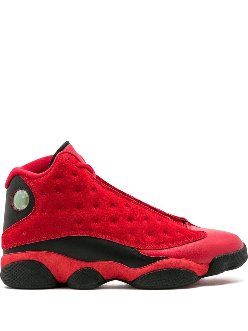 Air Jordan 13 Retro (GS) Big Kids (white metallic silver university red)