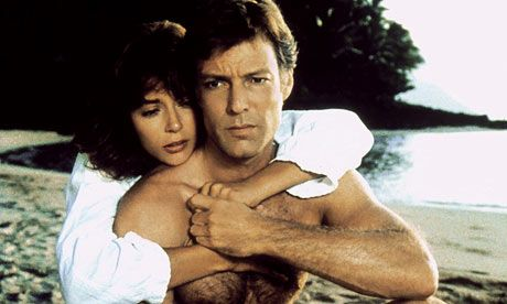 """""""The Thorn Birds"""" An amazing movie starring Richard Chamberlain as Ralph and Rachel Ward as Meggie. This movie is so beautiful. It was a novel that was made into a mini series in the 80's. If you love forbidden romance movies or books, check this out. Trust me, it's worth it."""
