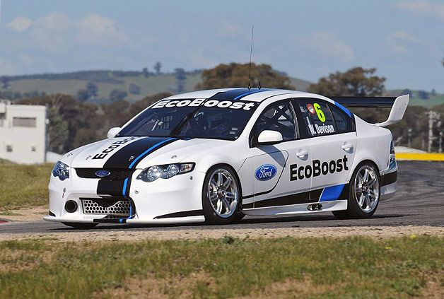 Fpr Debuts Falcon Car Of The Future For V8 Supercars Series Super Cars Ford Racing Ford Mustang