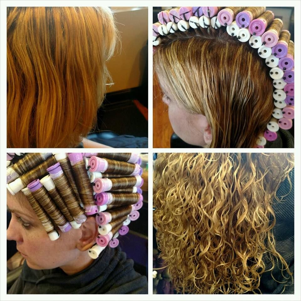 Piggyback Perm Before Wrap Results Permed Hairstyles Medium Hair Styles Hair Styles