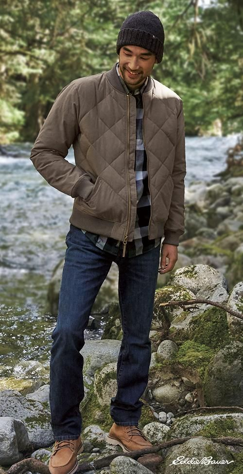 Menu0027s 1936 Skyliner Model Down Jacket