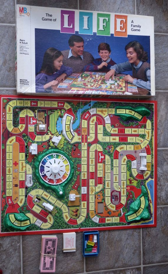 Vintage The Game Of Life Board Game 1982 Version Rare Stuff I Want