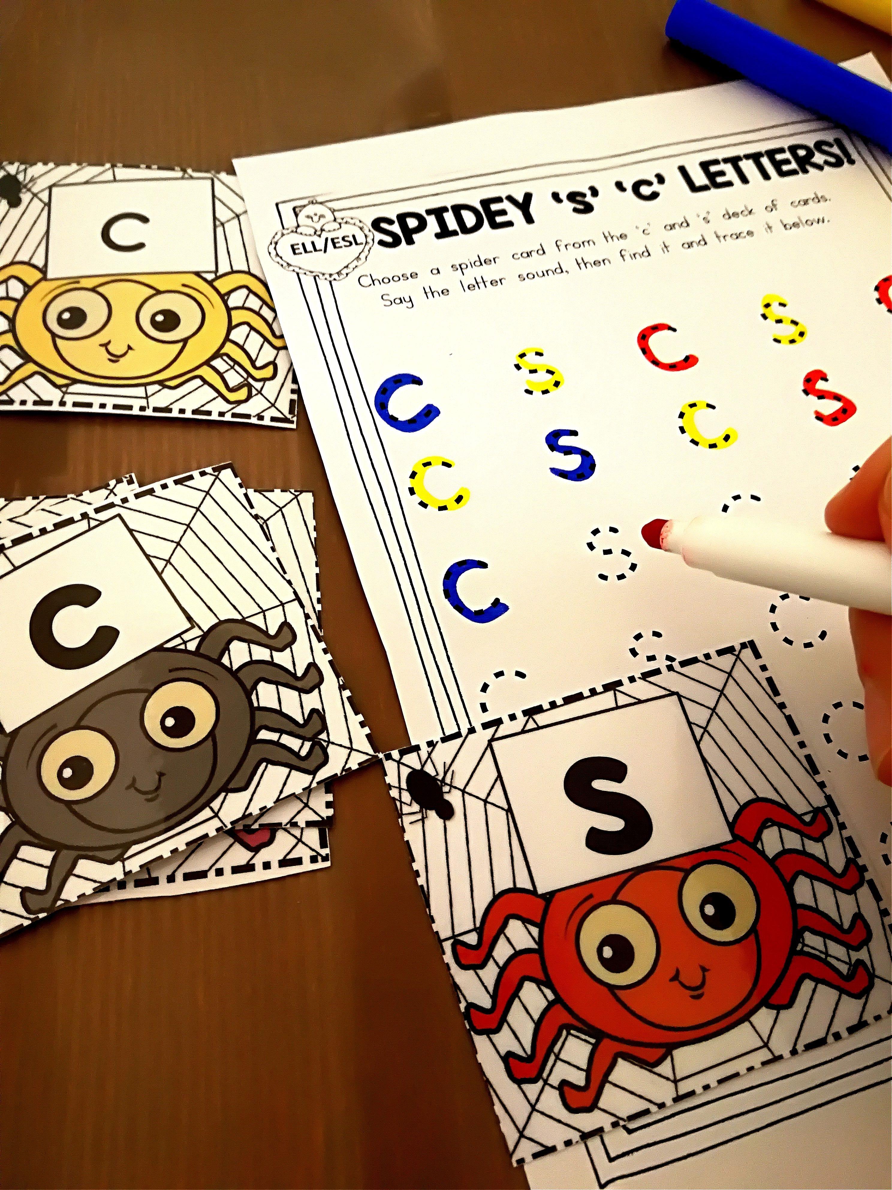 Halloween Centers For Kindergarten