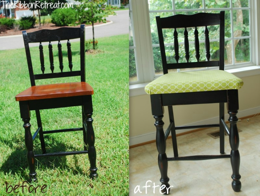 How To Upholster Dining Room Chairs - The Ribbon Give Blog | -Pin ...