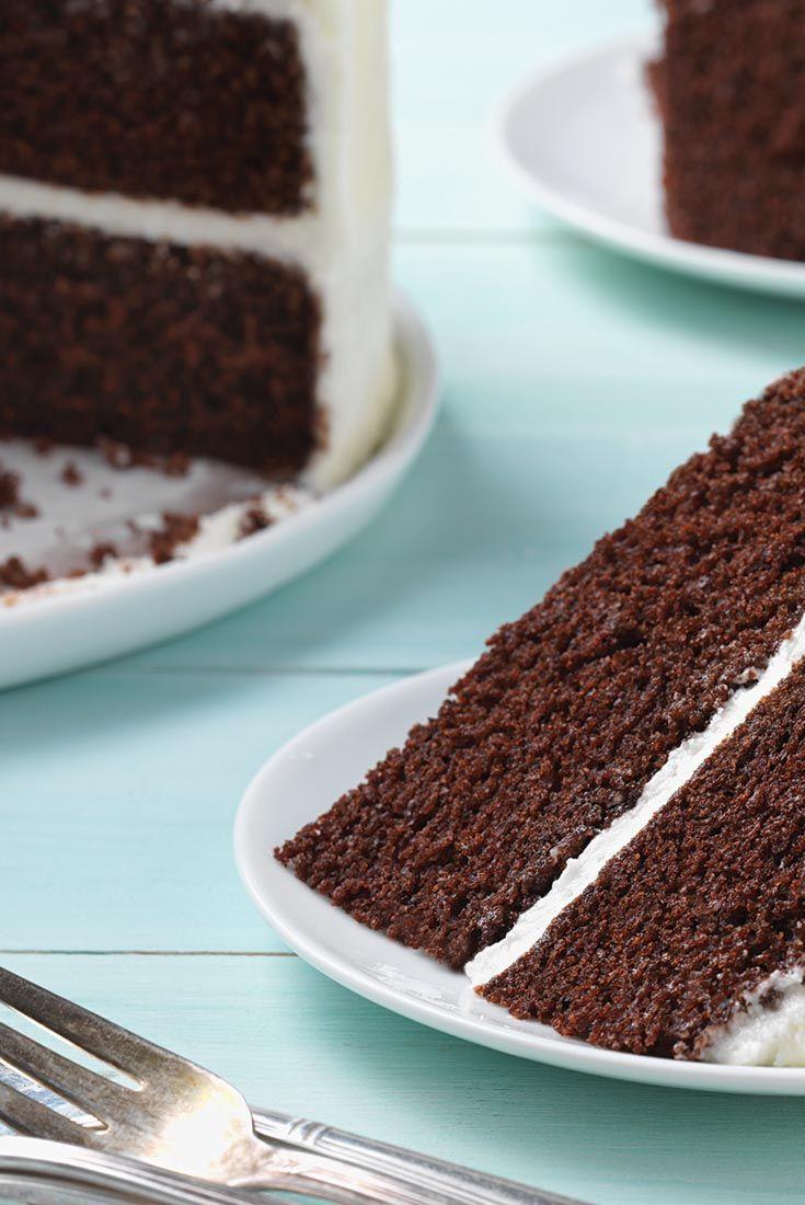Einfache und reiche Schokoladenkuchen Rezept
