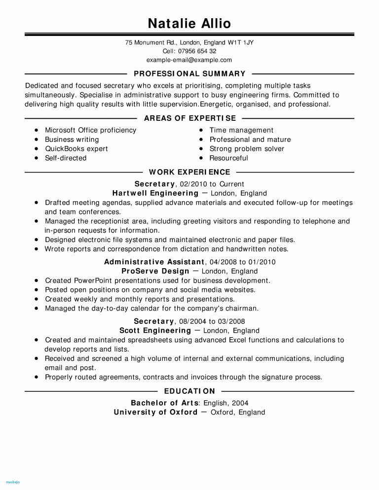 Resume Examples for Job Hoppers Awesome Photography Job