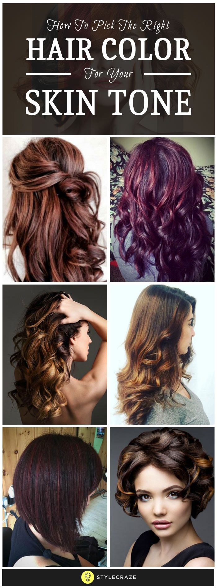 How To Pick The Right Hair Color For Your Skin Tone Bella Boo