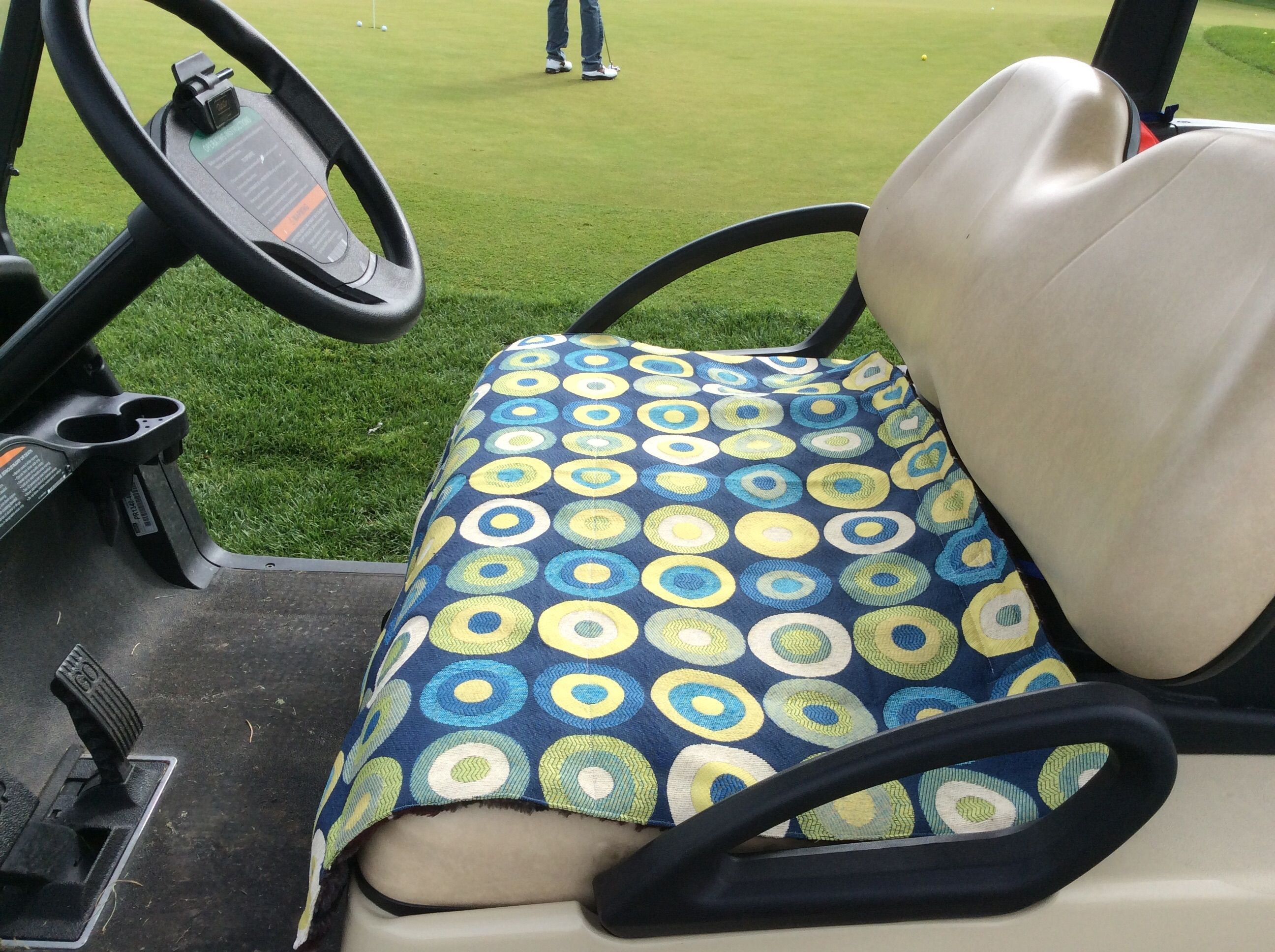 There\'s nothing worse than a scorching-hot golf car seat - except a ...