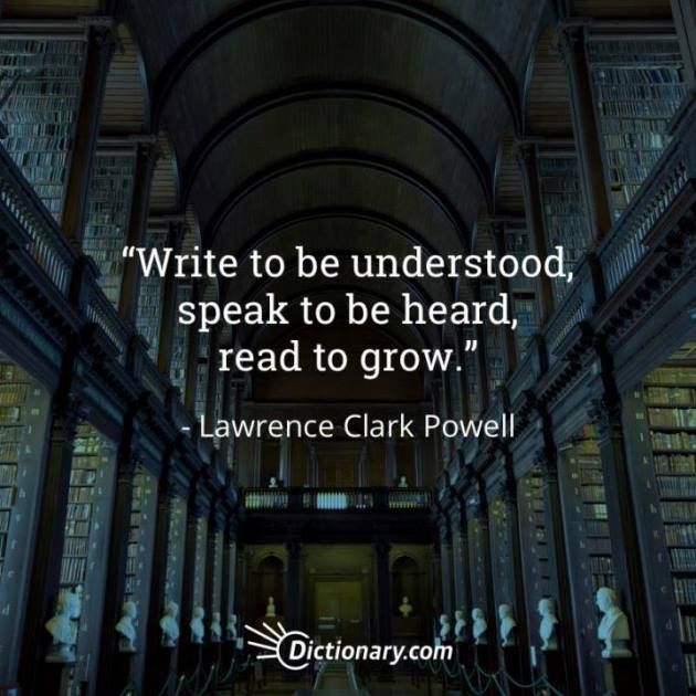 Quotable – Lawrence Clark Powell