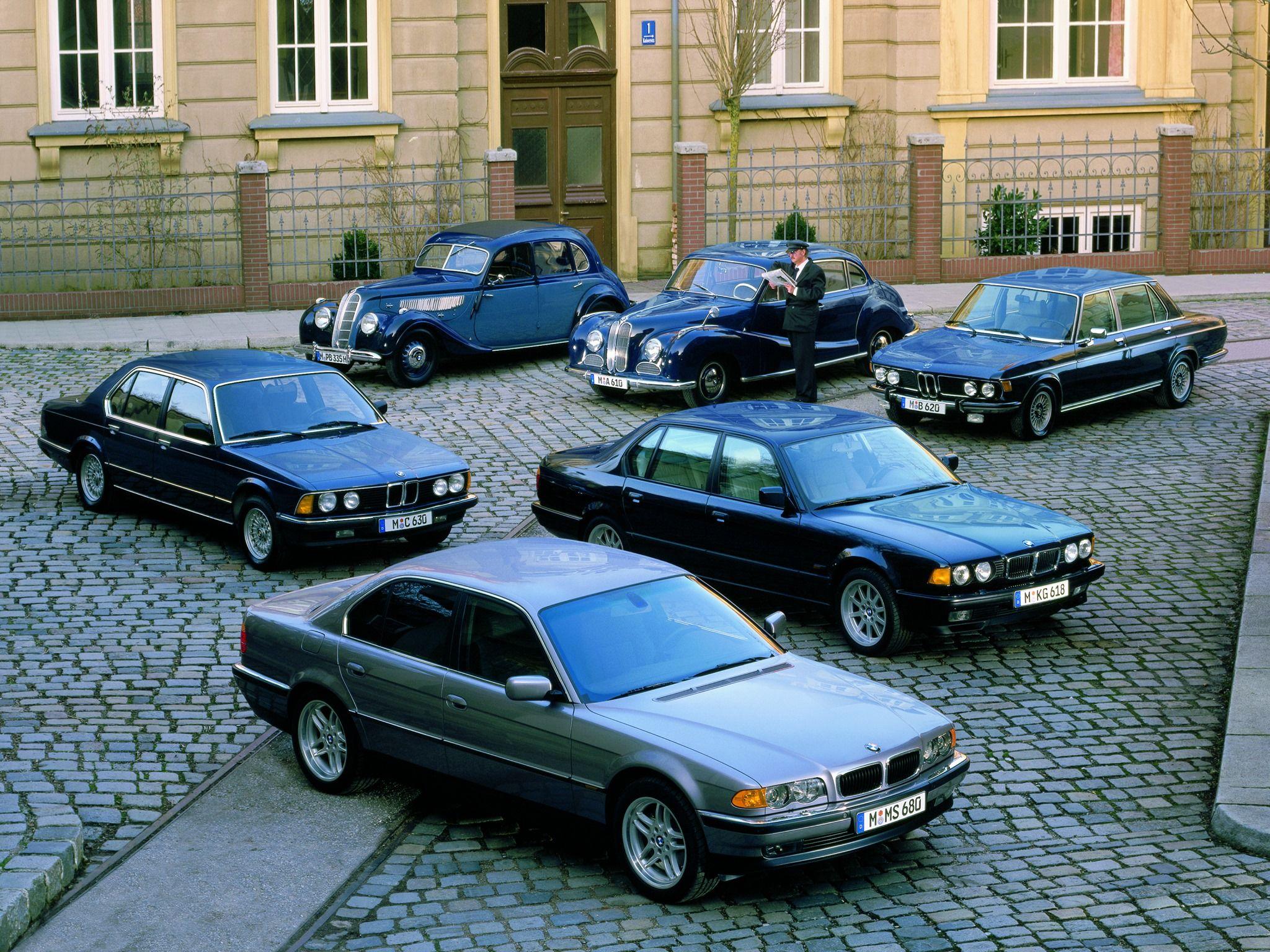 Bmw E23 E32 E38 7series Long Sedan Retro Classic Xdrive