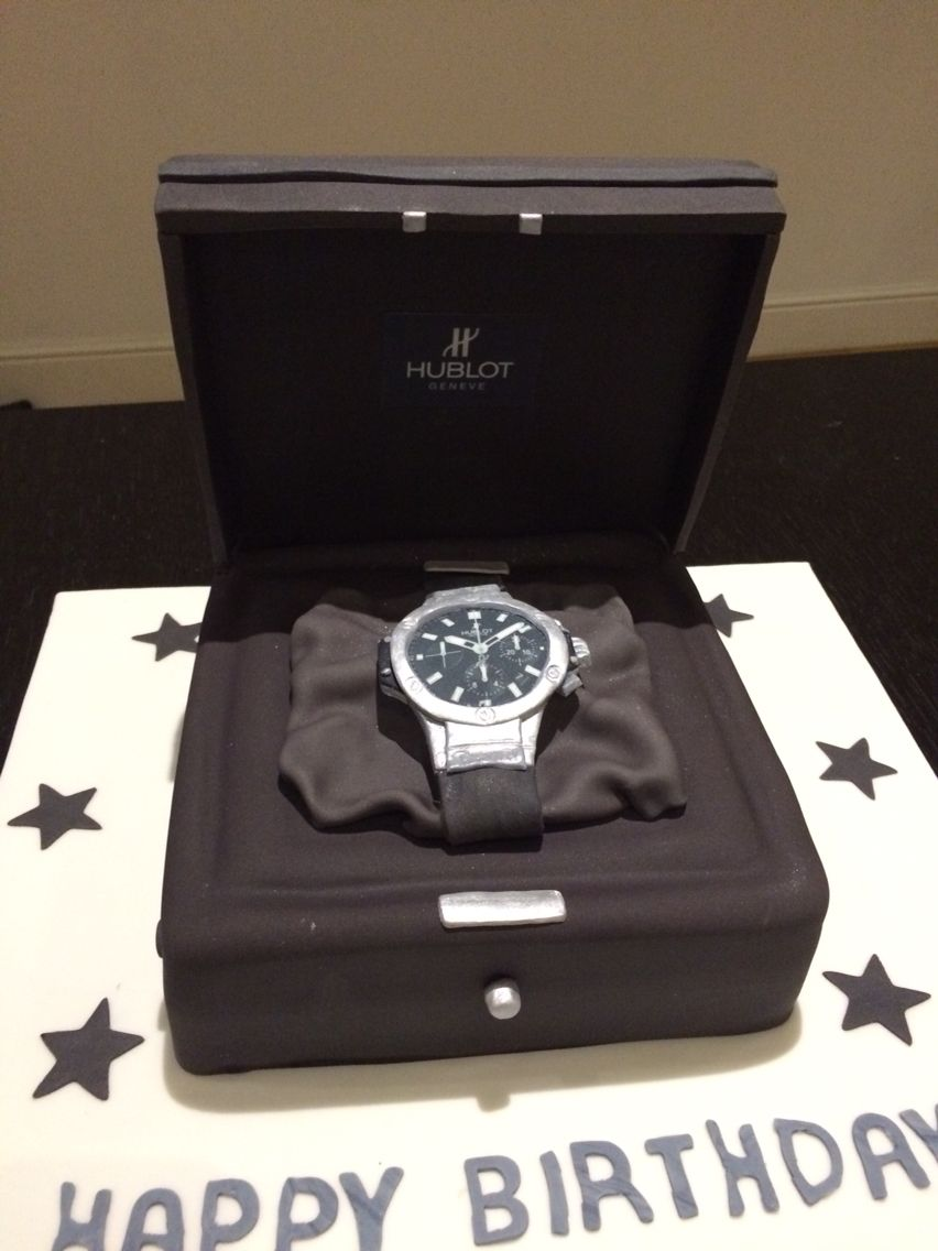 Designer Hublot Watch Cake By Victoria Defty Couture Cakes