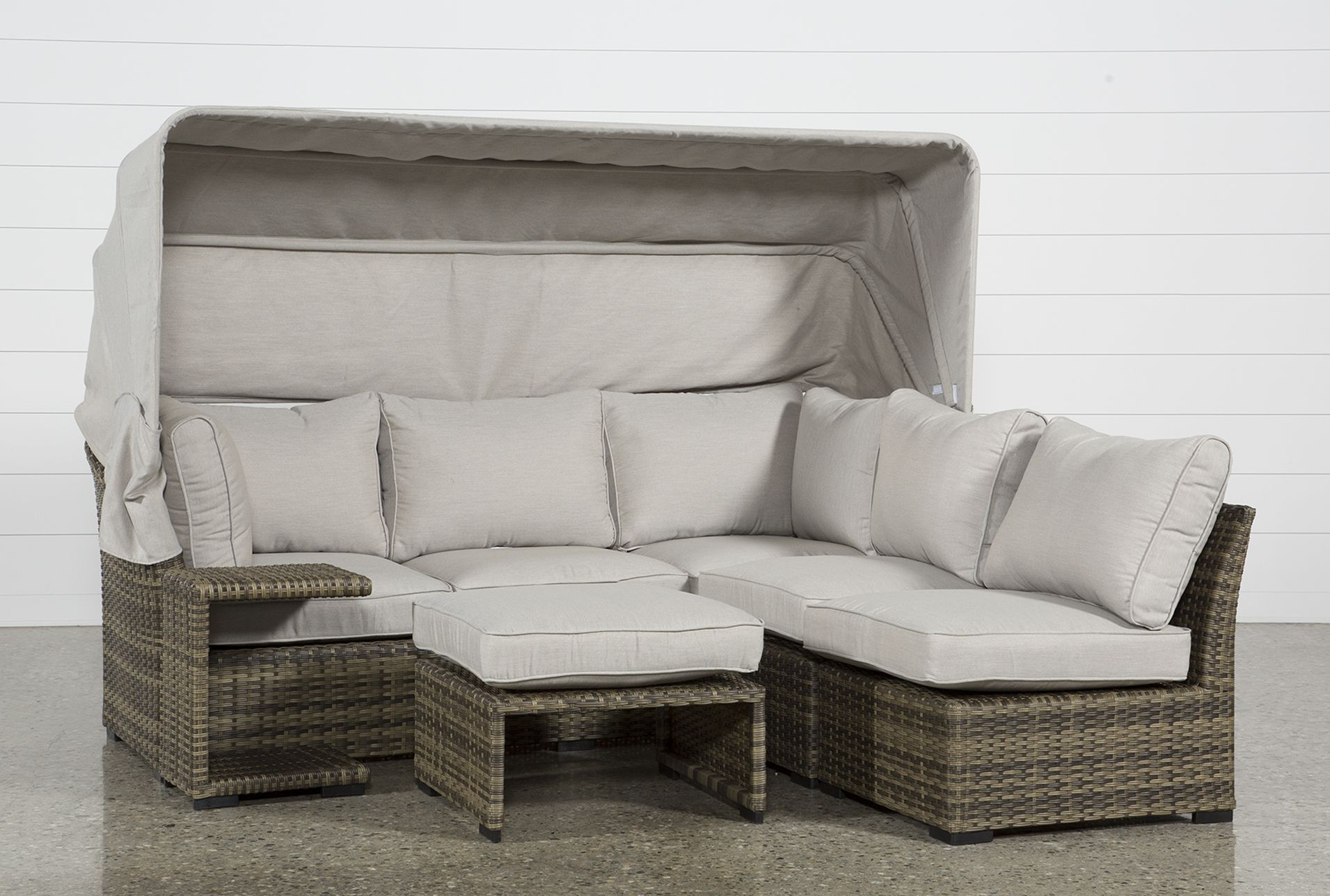 Outdoor Aventura II Daybed | Outdoor, Outdoor furniture ... on Living Spaces Outdoor Daybed id=75025
