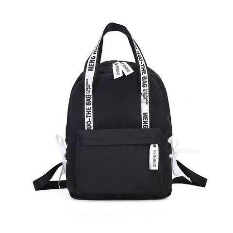 Large Capacity Backpack Women Preppy School Bags For Teenagers Female Nylon  Travel Bags Girls Bowknot Backpack Mochilas c832992c0d89f