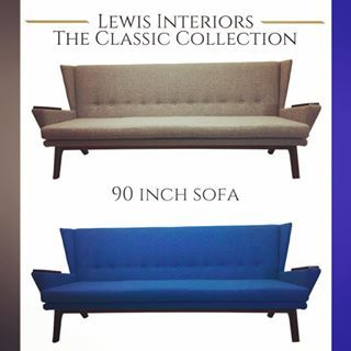 Our Lewis Sofa Is 90 Inches Of Pure STYLE! Itu0027s Classic Design Will  Accentuate Any Decor. What Fabric And Wood Tone Will You Choose?